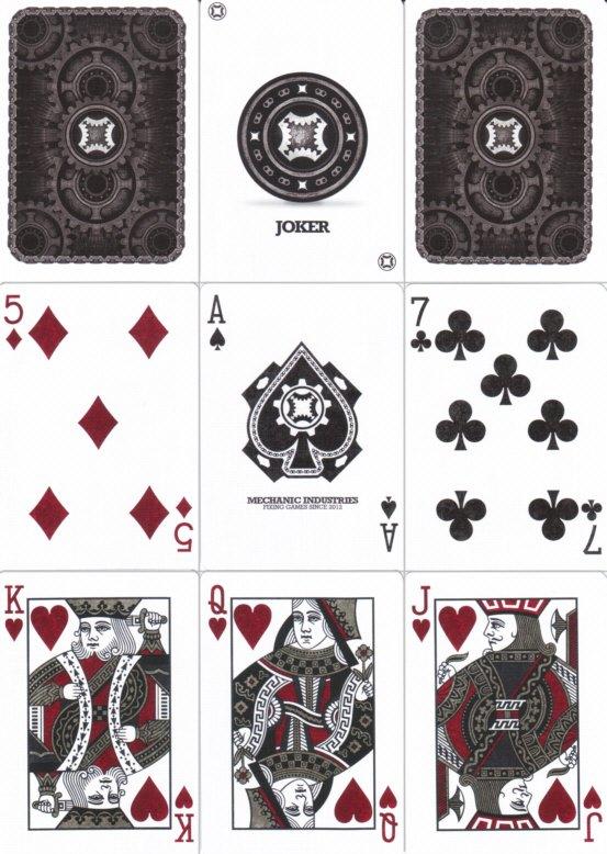 Mechanic Deck Spielkarten