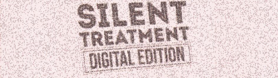 Silent Treatment Digital Edition von Jon Allen