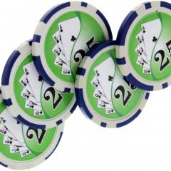 Expanded Shell Pokerchip-Set von Tango Magic