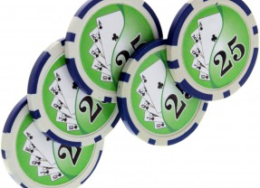 Expanded Shell Pokerchip-Set von Tango Magic