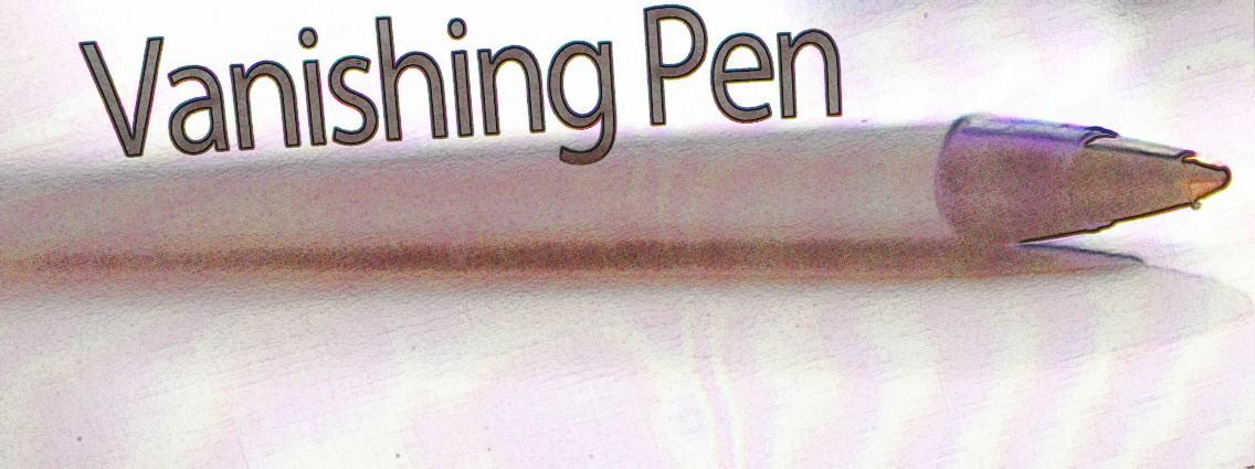 Vanishing Pen