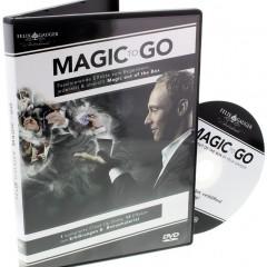Magic to Go von Felix Gauger – die perfekte deutschsprachige DVD um Zaubertricks zu erlernen.
